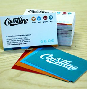 Coastline Business Cards
