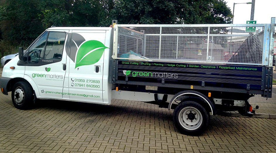 Vehicle Graphics Transit Tipper