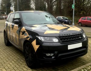 Range Rover Graphics 2
